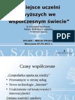 Krzysztof_Pawłowski_ Miejsce uczelni wyzszych we wspolczesnym swiecie