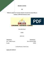 54543382 Pari SBI Life Project Report