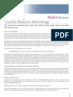 Fitch - Liquidity Score Methodology