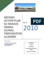 Barack Obama Global Preparatory Academy | Action Plan 2010
