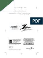 Zenith Dtt901