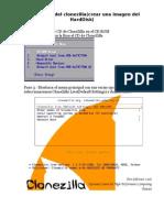 CloneZilla Crear Imagen