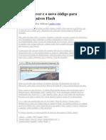 Dreamweaver e o novo código para inserir arquivos Flash