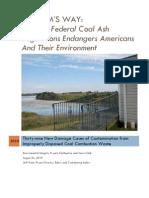 Coal Ash Disposal Report