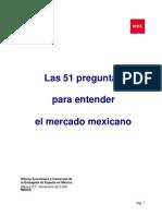 51 Preguntas Para Entender El Mercado Mexicano