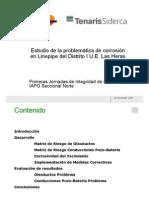 02 - Estudio de la problemática de corrosión en Linepipe del Distrito I de Las Heras