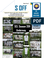 SCL Newsletter May 2011