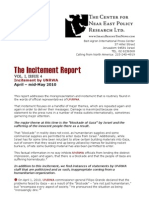 The Incitement Report Vol 4
