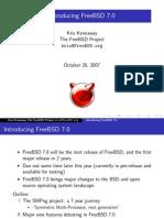 Introducing Freebsd 7.0