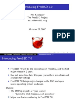 Introducing Freebsd 7.0