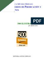 500 Ilustraciones Para Predicadores