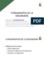 1_fundamentos de La Ergonomia