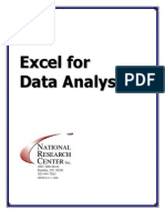 Excel Handbook