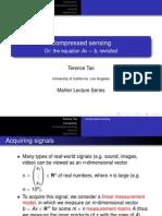 Compressed Sensing1