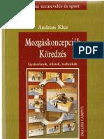 Andreas Klee_Mozgáskoncepciók_Köredzés