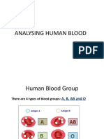 Science Form3 Analysing Human Blood Group