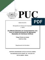 Artigo - Um método Baseado em Comportamento com foco no desenvolvimento de apl. baseadas em IU