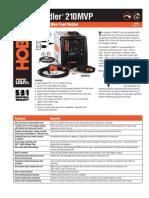 Spec Sheet - Handler 210MVP