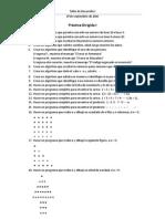 Taller de Desarrollo I - Practica Dirigida I