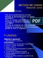 METODO MC GINNIS