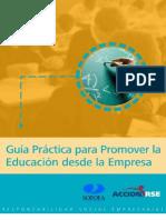 Guía para Promover la Educación desde la Empresa
