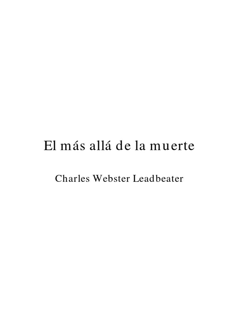 El más allá de la muerte / C. W. Leadbeater