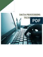 Data Processing Techniques