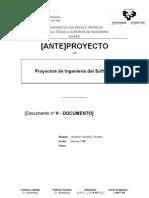 PFC Anteproyecto