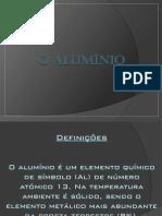 Trabalho sobre Aluminio