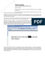 Add links to Microsoft Word documents