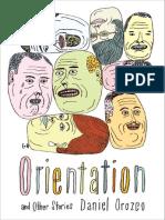 """Orientation"" A Short Story by Daniel Orozco"