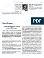 PAPER a Process-Model Control for Linear Systems With