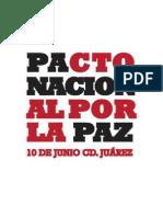 Pacto Nacional por la Paz con Justicia y Dignidad