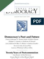 Democracy's Past and Future