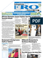 Washington D.C. Afro-American Newspaper, January 9, 2010