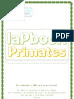 LAPBOOK PRIMATES-Contenidos
