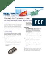 Process Comparison - Laser Plastic Welding v. the Competition