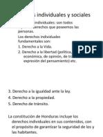 Derechos Individuales y Sociales