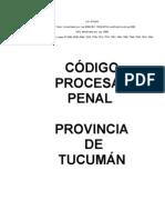 Codigo Procesal Penal Tucuman