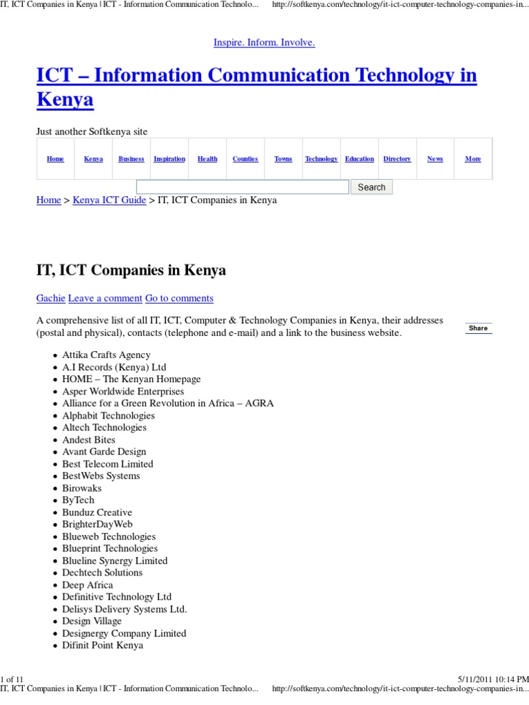 It ict companies in kenya ict information communication it ict companies in kenya ict information communication technology in kenya malvernweather Gallery
