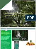DEFINITIVO - Aspetti Naturalistici Ed Ecologici Delle Zone Verdi Nelle Aree Urbanizzate