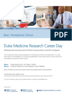 Research Career Day 2011 Flyer Final