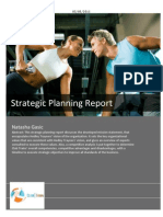 Strategic Planning Report