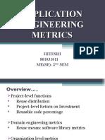 Application Engg Metrics