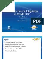 David Trch - Customer Refund Integration in Rel.12