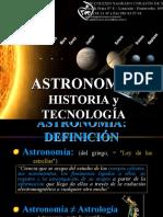 ASTRONOMIA Y TECNOLOGIA
