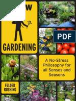 Slow Gardening Excerpt