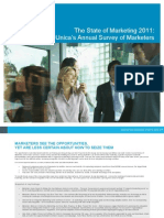 Unicas 2011 Annual Survey of Marketers