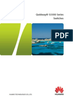 Quidway S3300 Series Switches V100R005 Brochures V1
