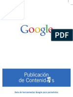GOOGLE Publicacion de contenidos